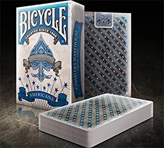 Bicycle Americana Blue Playing Cards Deck