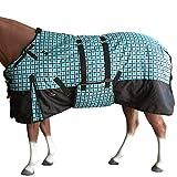 HILASON 78' 1200D Winter Waterproof Horse Blanket Belly Wrap...