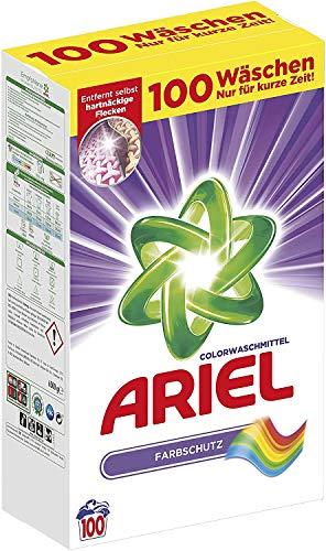 Detergente en polvo Ariel para ropa de color, 6,5 kg, 2 unid