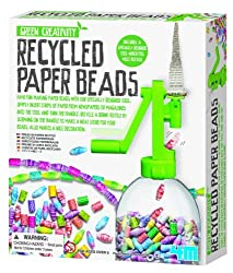 Green craft - recycled paper bead making kit