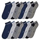 N / A 8 o 16 pares de calcetines para mujer en muchos colores y diseños 16 x azul claro. 39-42