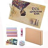 libro de aventuras Pixar Up hecho a mano DIY álbum de recortes familiar, álbum retro, álbum de recortes, álbum de viaje, recuerdos de día de acción de gracias