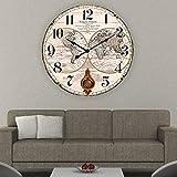 BHP Reloj de Pared Old MAPAMUNDI de 58cms