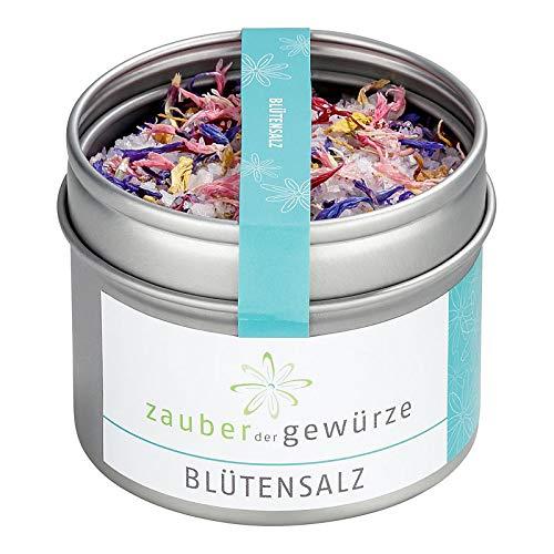 Zauber der Gewürze | Blütensalz, Blütensalzmischung | Premium-Qualität, 70 g