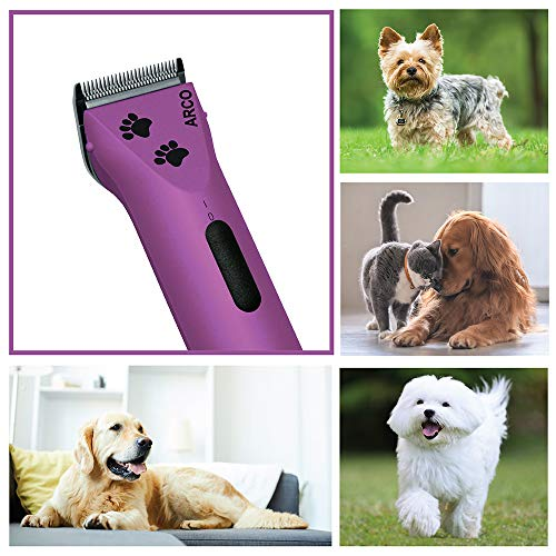 Wahl Professional Animal Arco Pet, Dog, Cat, and Horse Cordless Clipper Kit,...