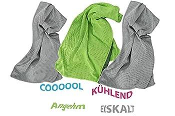 Muxel Cool Down Towel Lot de 3 serviettes de sport