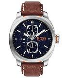 Hugo Boss Orange Homme Multi-cadrans Quartz Montres bracelet avec bracelet en Cuir -...