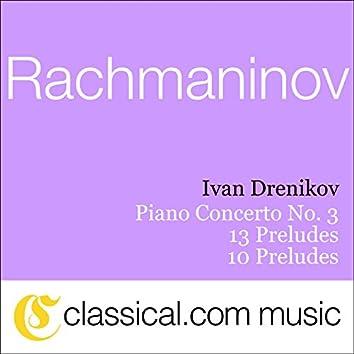 Sergey Rachmaninov, Piano Concerto No. 3 In D Minor, Op. 30