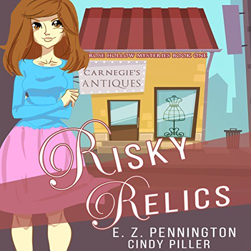 Risky Relics audiobook cover art