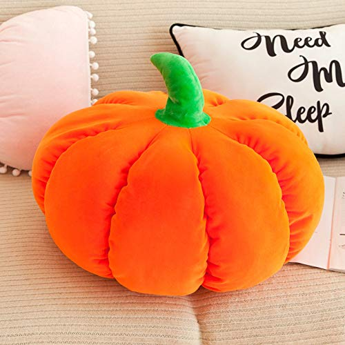 langchao Daunenbaumwoll Kürbis Kissen Halloween Puppe Kindergeburtstagsgeschenk Heimtextilien orange 50cm