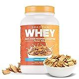 Sparta Nutrition, Spartan Whey Protein Powder, Cinna Crunch, 2 Pound (Pack of 1)