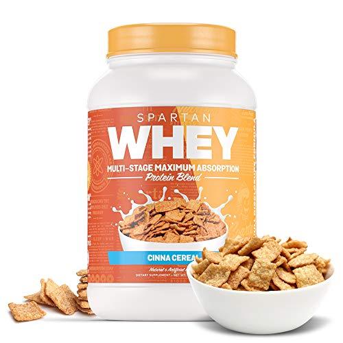 Sparta Nutrition Spartan Whey Ultra Premium Protein Blend, Cinna Crunch, 2 lb