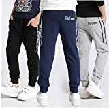 Immagine 1 uayasily pantaloni ragazzi jogger per