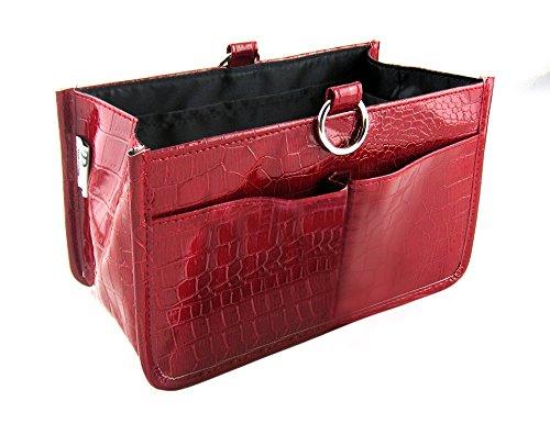 Periea Handtaschen-Organiser Geldbeutel-Einsatz 15 Fächer 2 Farben - Claire