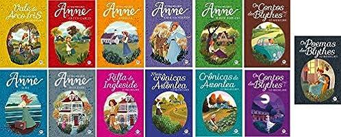 Colecao Completa ANNE DE GREEN GABLES - Kit 13 VOLUMES