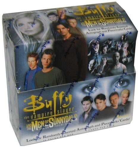 Buffy the Vampire Slayer and the Men of Sunnydale Premium Trading Cards Box