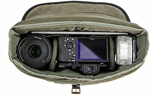 Vanguard Veo Travel 41bk Fototasche Schwarz Khaki Kamera