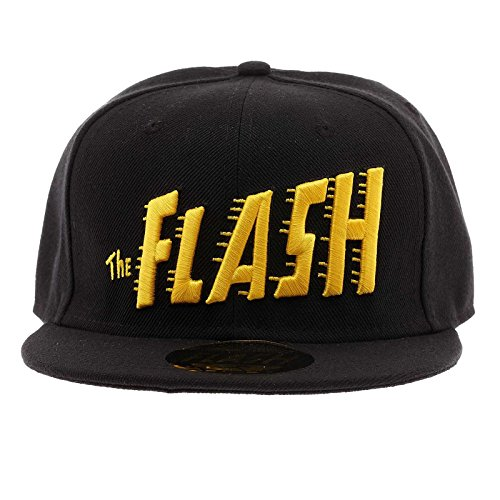 DC Comic Casquette The Flash Logo Text