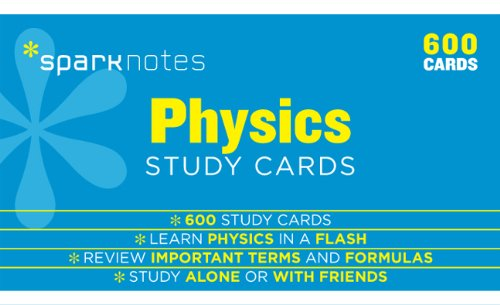 Physics SparkNotes Study Cards (Volume 16)