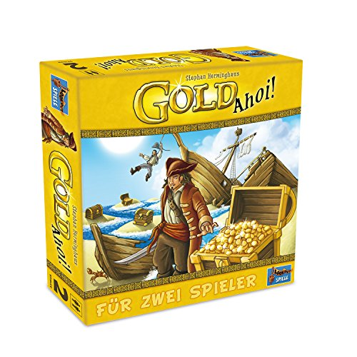 Lookout Games 22160073 22160073-Gold AHOI Spiele