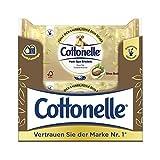 Cottonelle Papel higiénico húmedo, con manteca de karité, biodegradable, reutilizable, 12 paquetes de 44 toallitas