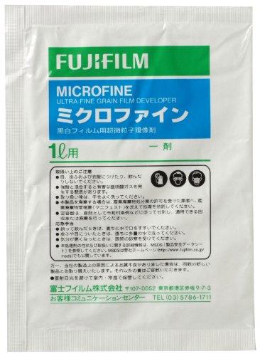 FUJIFILM 黒白フィルム小型タンク用微粒子現像剤 ミクロファイン 1?用 MICROFINE 1L