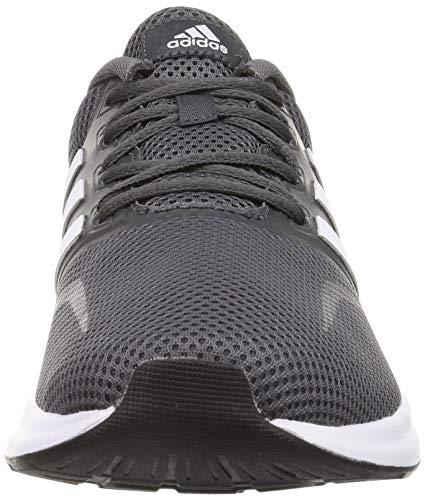 adidas Runfalcon, Zapatillas de Running para Hombre, Gris (Grey Six/ Footwear White/ Core Black), 42 EU
