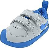 Nike Pico 5, Zapatillas de Tenis Unisex niño, Multicolor (White/Lt Photo Blue 103), 21 EU