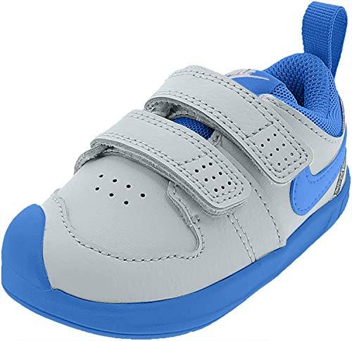 Nike Pico 5, Zapatillas de Tenis Unisex niño, Multicolor (White/Lt Photo Blue 103), 27 EU