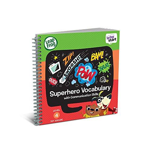 LeapFrog LeapStart 1st Grade Activity Book: Superhero Vocabulary and...