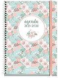 Miquelrius agenda escolar con espiral 2019 2020 semana vista floral español 117x182 mm