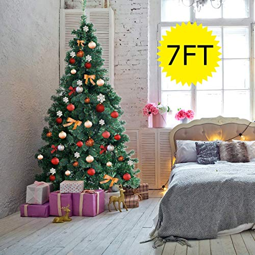 G Artificial Christmas Tree with Metal Legs Perfect for Indoor and Outdoor