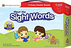 meet the sight words - 12 easy reader books