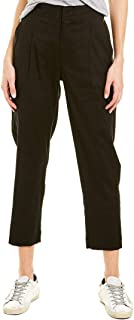 Linen-Blend Cargo Pant