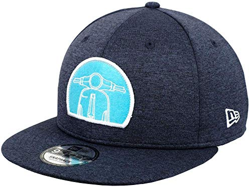 A NEW ERA Herren Shadowtech Felt Patch 950 Vespa Kappe, Marineblau, M/L