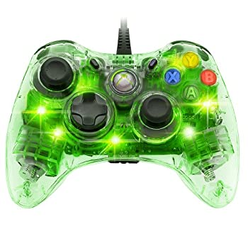PDP Afterglow Wired Controller for Xbox 360 - Green - microsoft_xbox_360