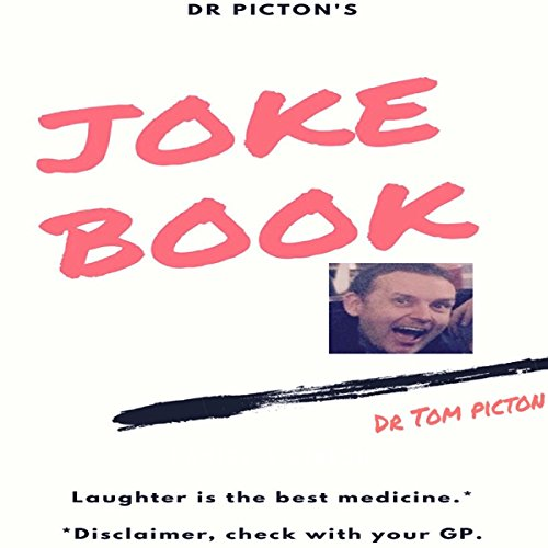 Dr Pictons' Joke Book audiobook cover art