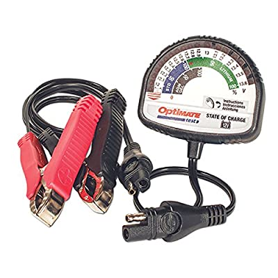 Optimate Test – State of Charge, TS-127, State of Charge Tester - All 12V Lead-Acid & 12.8V/13.2V Lithium by TecMate