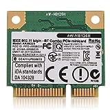 Yeepin Mini Carte sans Fil WiFi, 300Mbps 2.4G Double Bande Mini PCI-E Bluetooth WiFi 2 en 1 Support de Carte sans Fil 802.11B/G/N...