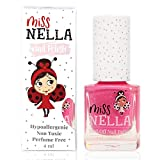 Miss Nella nuova collezione estiva WATERMELON POPSICLE- rosa Smalto speciale con brillantini per bambini, con formula peel-off, a base d'acqua e senza odori
