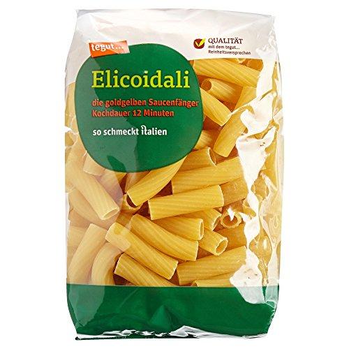 tegut... Italienische Nudeln Elicoidali - Teigware aus 100 % Hartweizengrieß - Spezialität aus Italien, 1 x 500 g