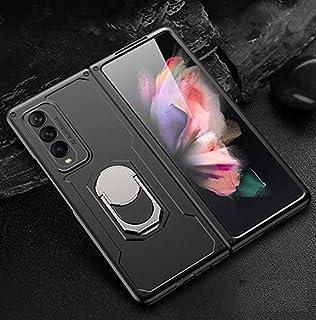 سامسونج جالاكسى زد فولد 3 (Samsung Galaxy Z Fold 3)كفر 360 درجة جيه كيه كيه قطعتين ارمور - (اسود)