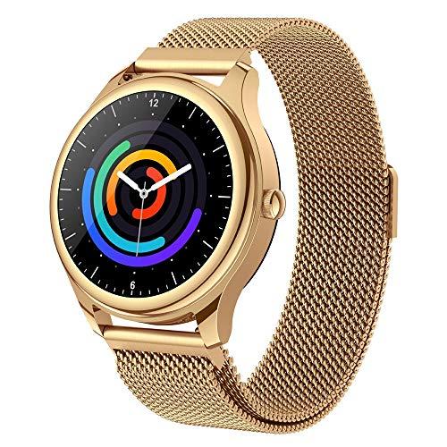 WuMei101 Sleep Heart Rate Fashion Smart Watch Rastreador de fitness con ritmo cardíaco y monitor de presión arterial, reloj a prueba de agua con monitor de sueño, adecuado para niños, mujeres, hombres
