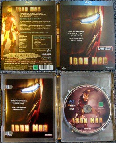 Iron Man - Limited Edition Steelbook [Blu-ray]