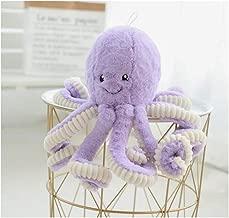 HYL World 15.7 Inches Plush Cute Octopus Dolls Soft Toy Stuffed Marine Animal for Home Decor Christmas Birthday Gifts-Purple