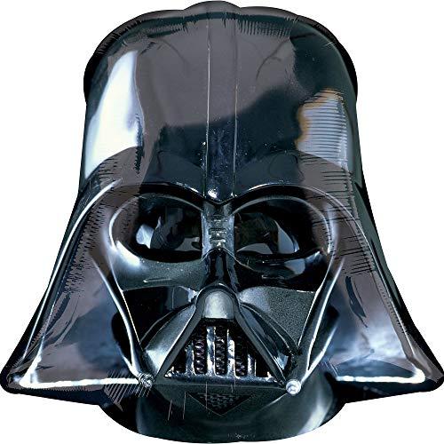 amscan - Ballon Star Wars en Forme du Masque de Dark Vador
