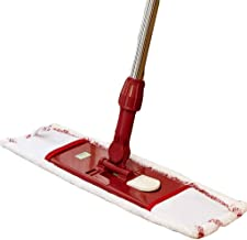 WZHZJ Mop - Effective Cleaning Area Flat Mop with Mop Pads Hardwood Floor Cleaning Microfiber Wet Mops
