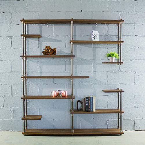 Furniture Pipeline Industrial Bookcase