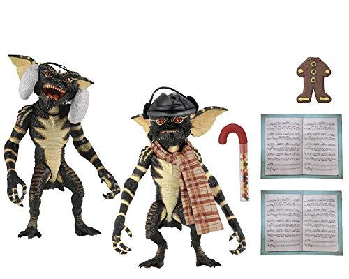 Gremlins - 7u0022 Scale Action Figures - Christmas Carol Winter Scene 2 Pack (SET 2)