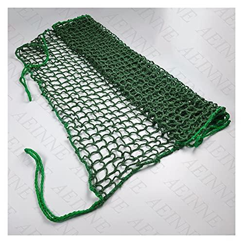 AEINNE Backyard Net, Multipurpose Net Replacement Golf Nets for Indoor Use Yard Goal Backstop Practice Net Catching Balls Netting Baseball Sport Soccer Barrier Rebounder Netting Material Nets, Green